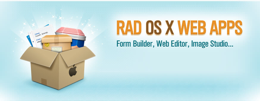 Get Our OS X Apps Including Web Form Builder, Web Editor, and Web Image Studio...