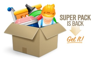 Super Pack is back, get 29 programs for $329!
