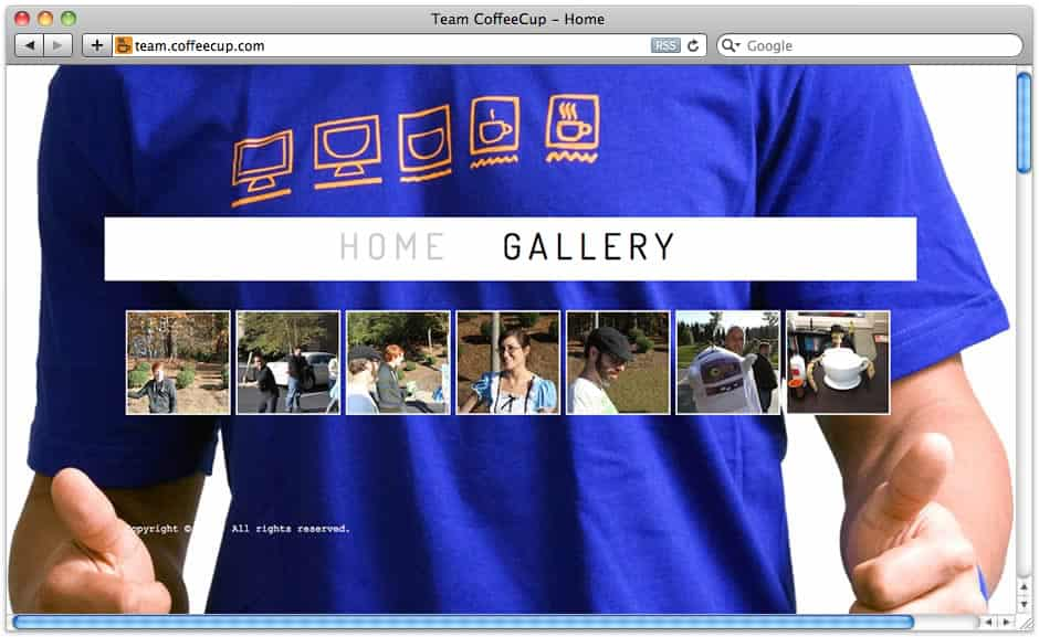 InstaWeb Theme for Team CoffeeCup