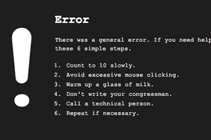 Redirect bad requests like 404 errors to custom error pages.