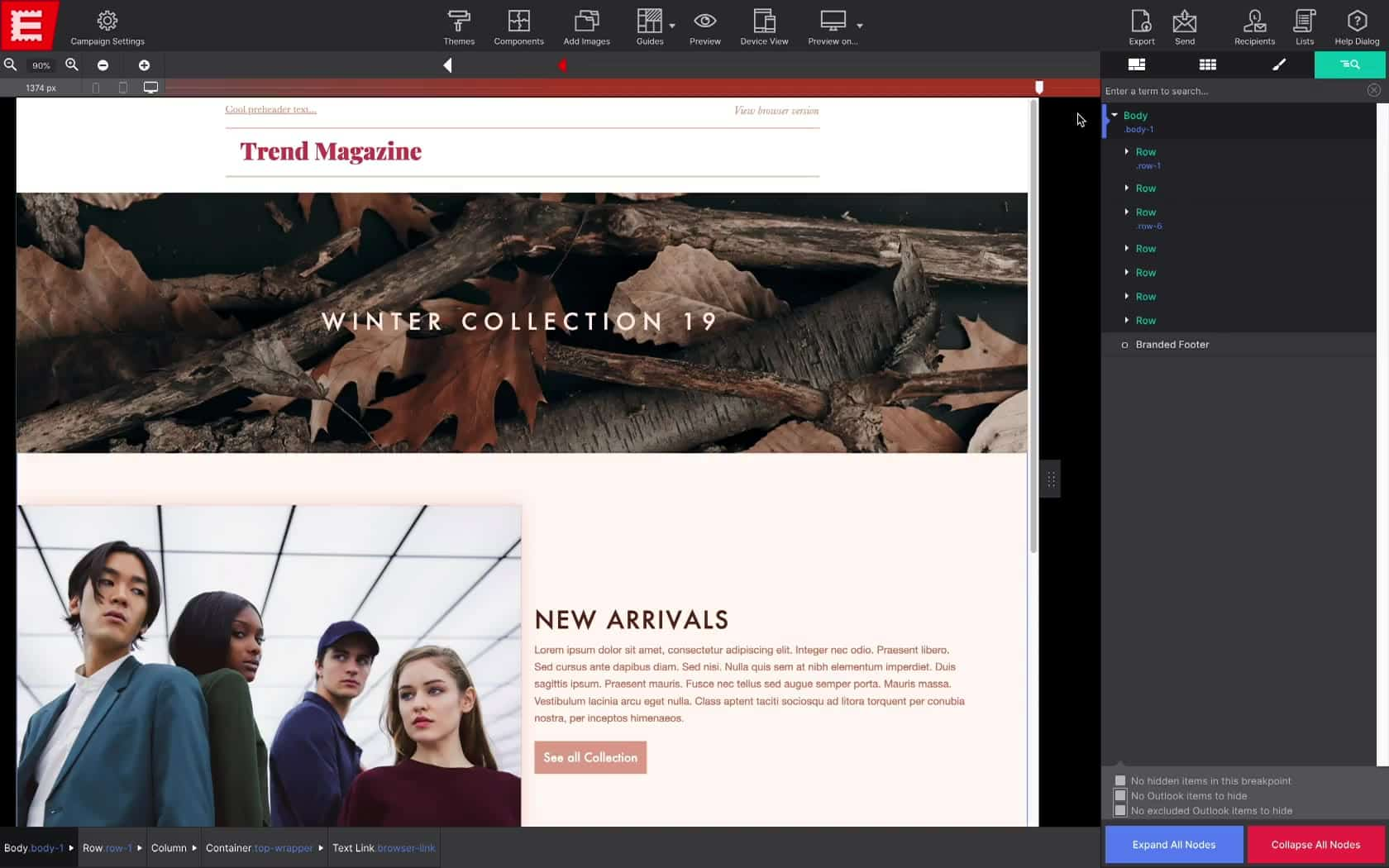 Email Designer Coffeecup Software