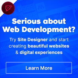 Site Designer & Start creating beautiful websites